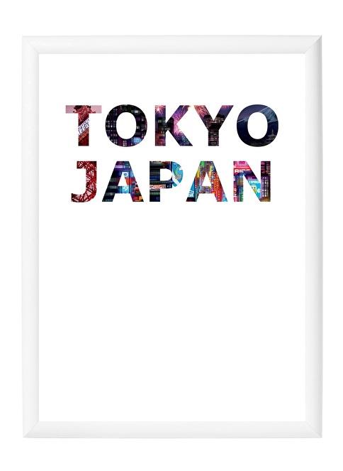 Decarthome Tokyo Anı Çerçevesi 30x40 cm Beyaz